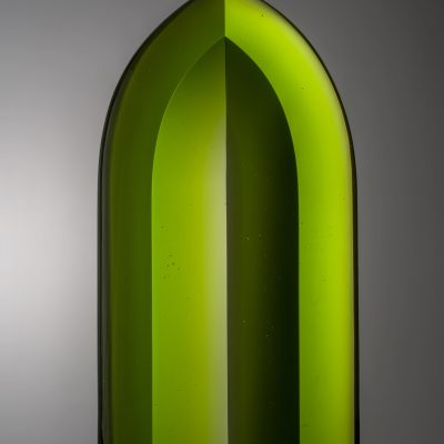Petr Hora cast glass sculpture