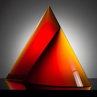 Petr Hora glass sculpture