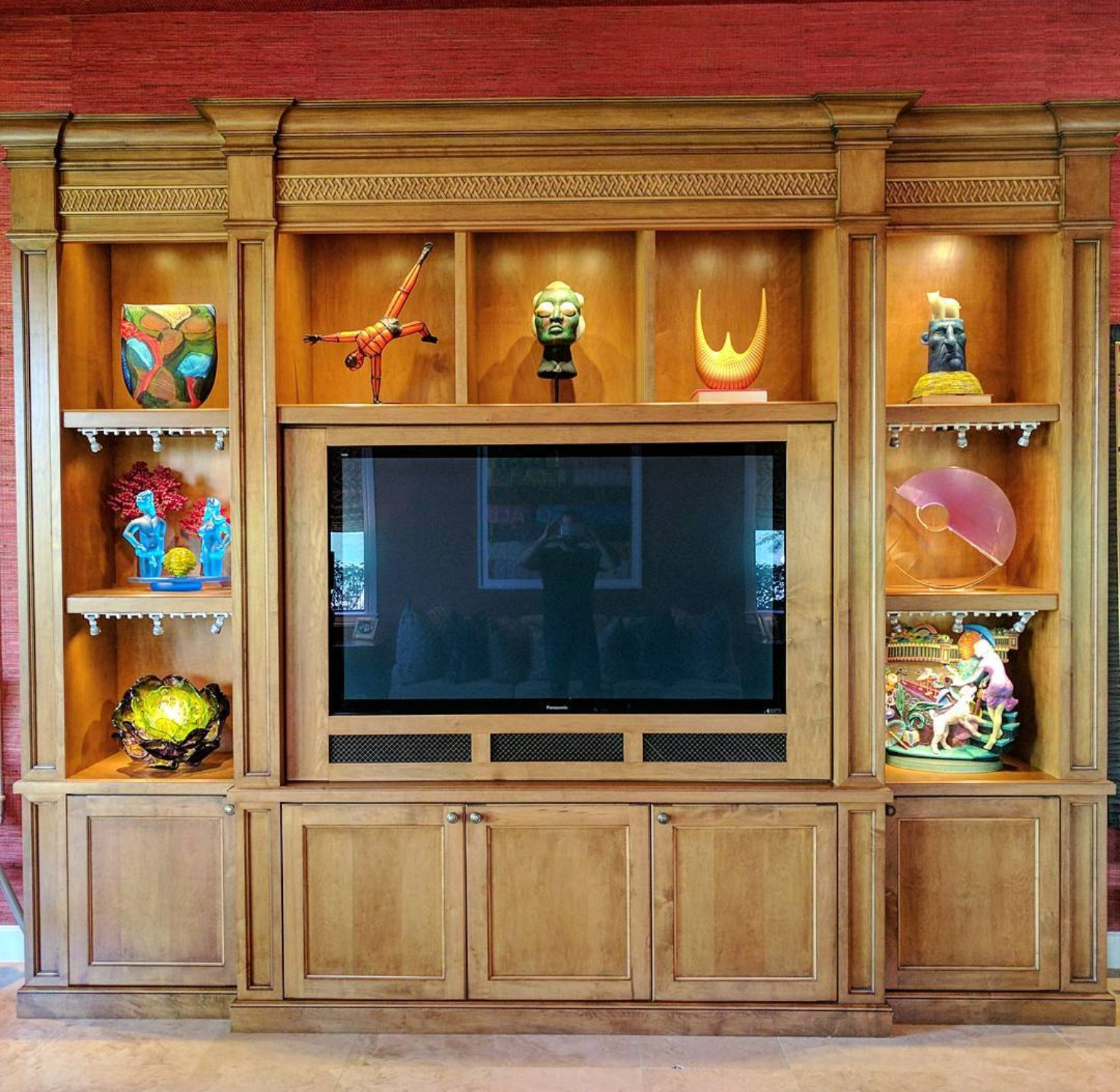 Art display ideas in your home