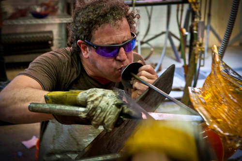 Picture of Martin Blank working