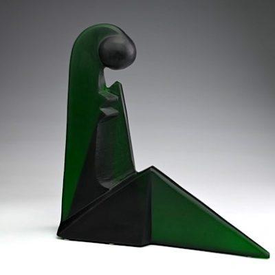 Rick Beck glass sculpture