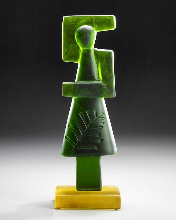 Glass sculpture by Rick Beck