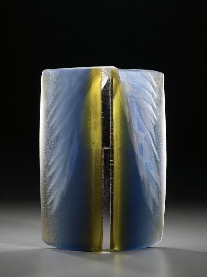 Glass sculpture by Alex Bernstein