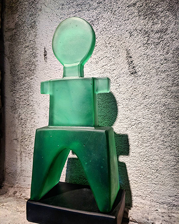Rick Beck glass art available at Habatat Galleries, FL