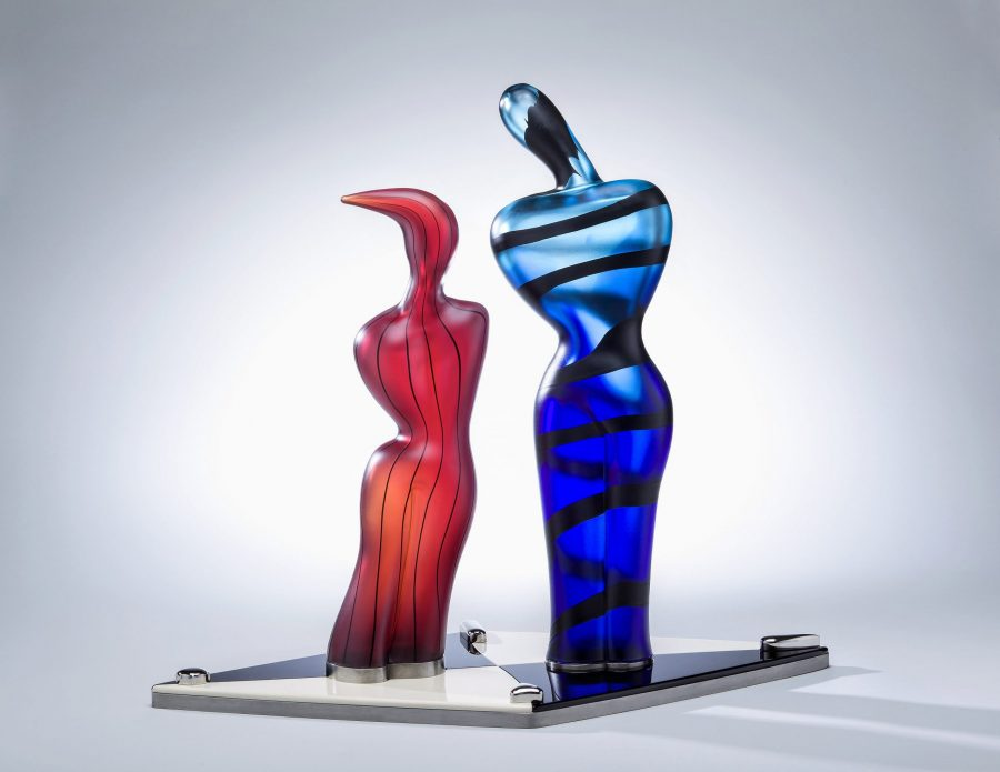 Dan Dailey glass sculpture