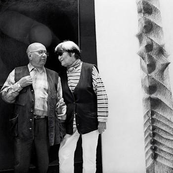 glass artists Stanislav Libensky and Jaroslava Brychtov