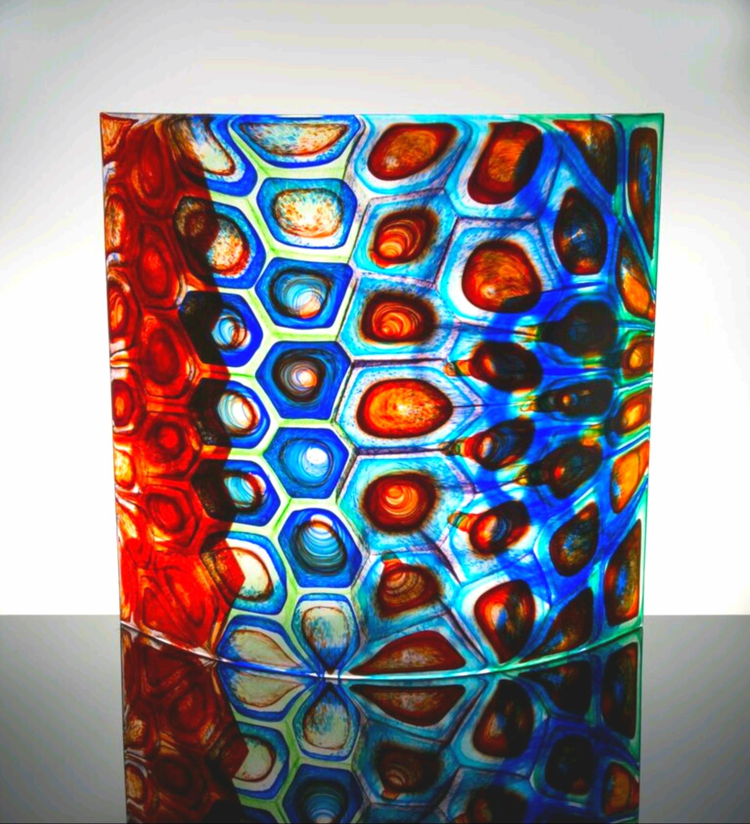 Stephen Powell glass art