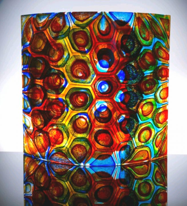 Stephen Powell glass art available at Habatat Galleries