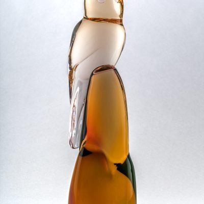 Glass sculpture by Dan Friday