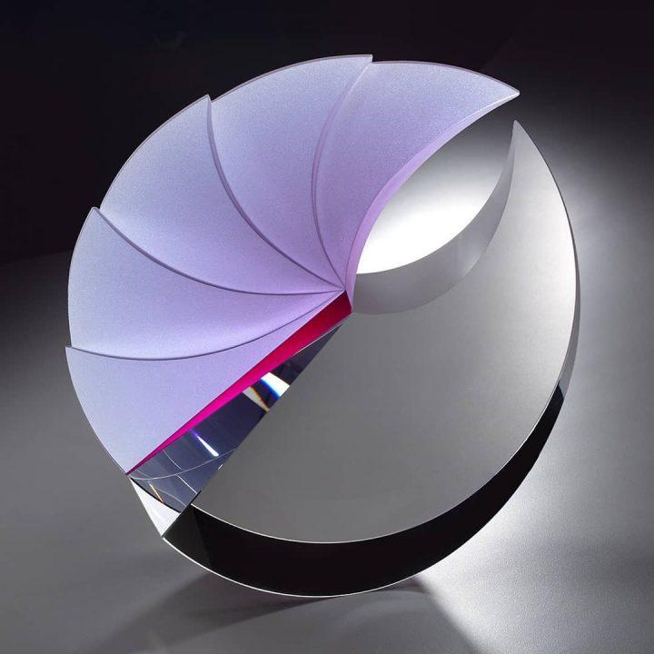 Martin Rosol glass art at Habatat Galleries, FL