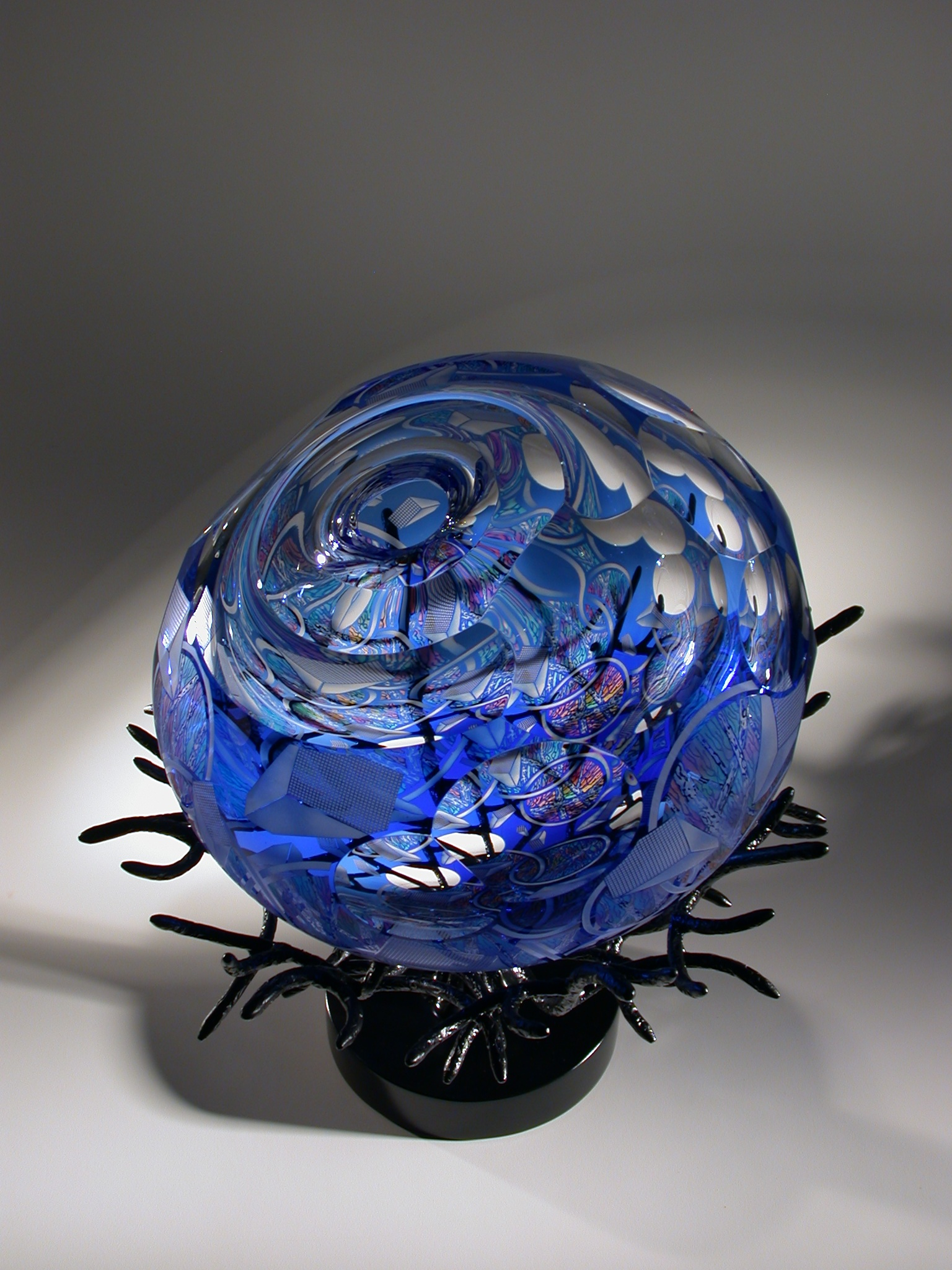 Glass art by David Schwarz