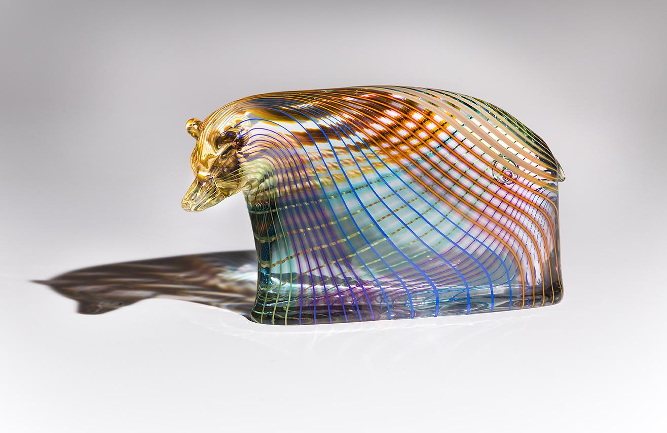 Glass art by Dan Friday