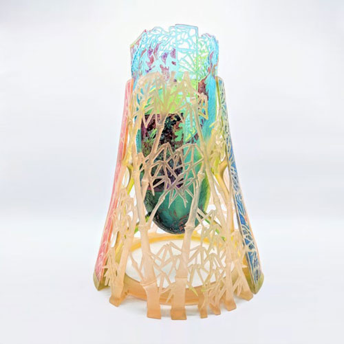 cast glass art by artist Binh Pho available at Habatat Galleries, FL