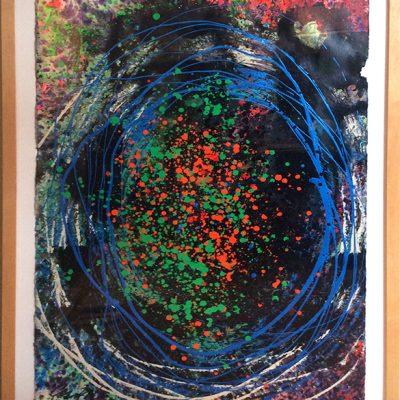 Abstract painting by Dale Chihuly