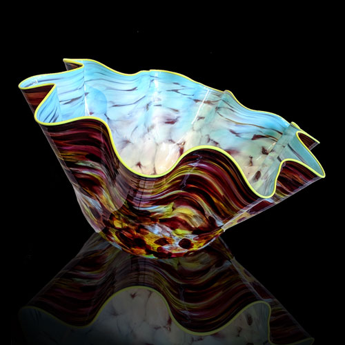 Dale Chihuly glass art available at Habatat Galleries