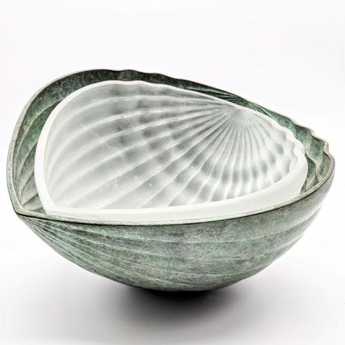 Daniel Clayman mixed media sculpture available at Habatat Galleries
