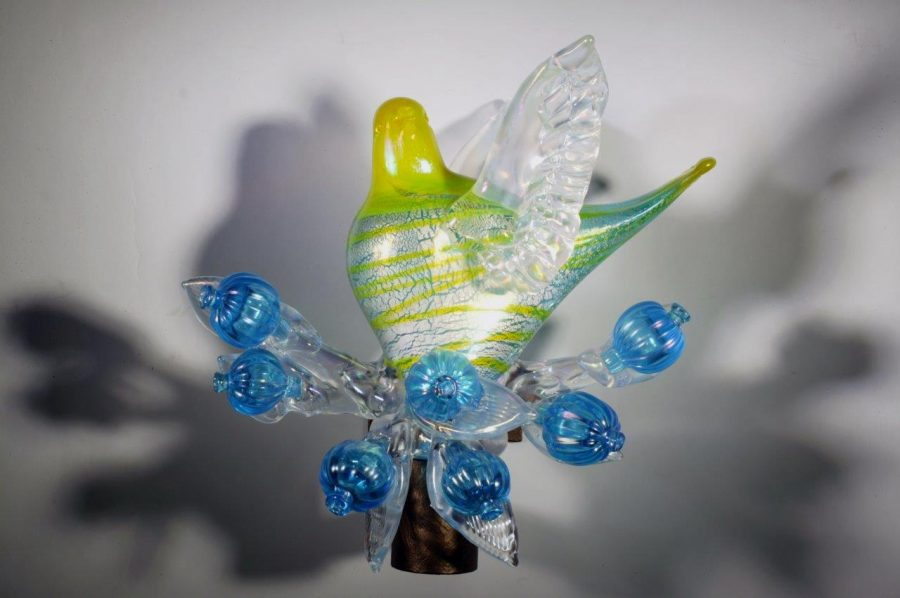 Richard Jolley glass art