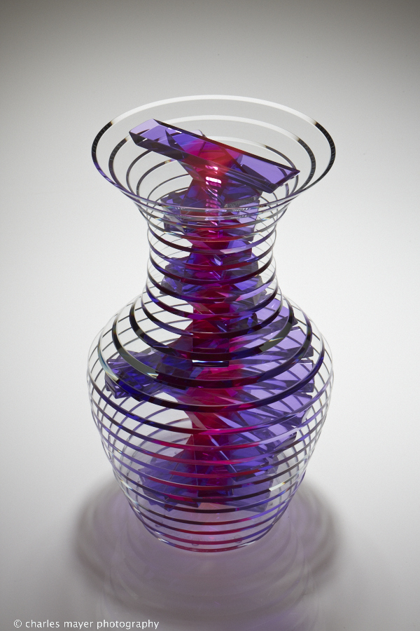 glass art by Sidney Hutter