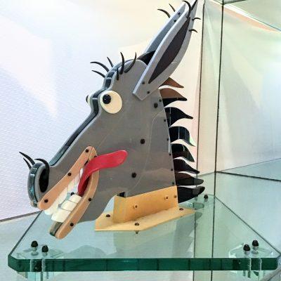 Dan Dailey glass sculpture