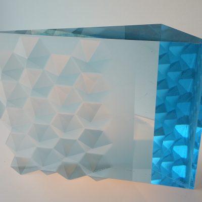 Vladimira Klumpar Glass sculpture
