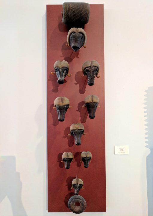 William Morris glass art at Habatat Galleries