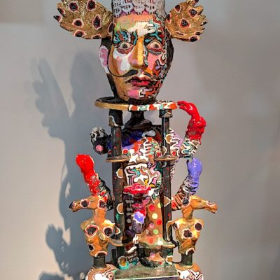 Ceramic Sculpture by Noi Volkov