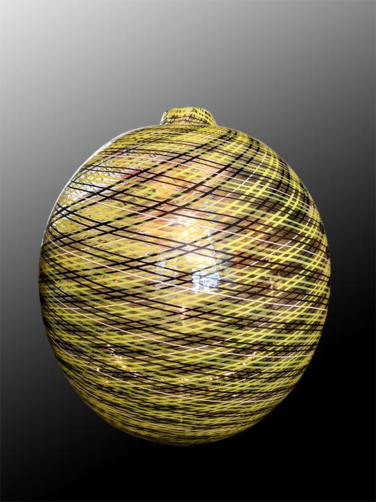 Lino Tagliapietra blown glass sculpture