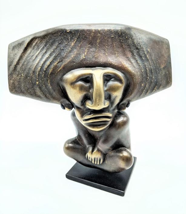 William Morris bronze art at Habatat Galleries
