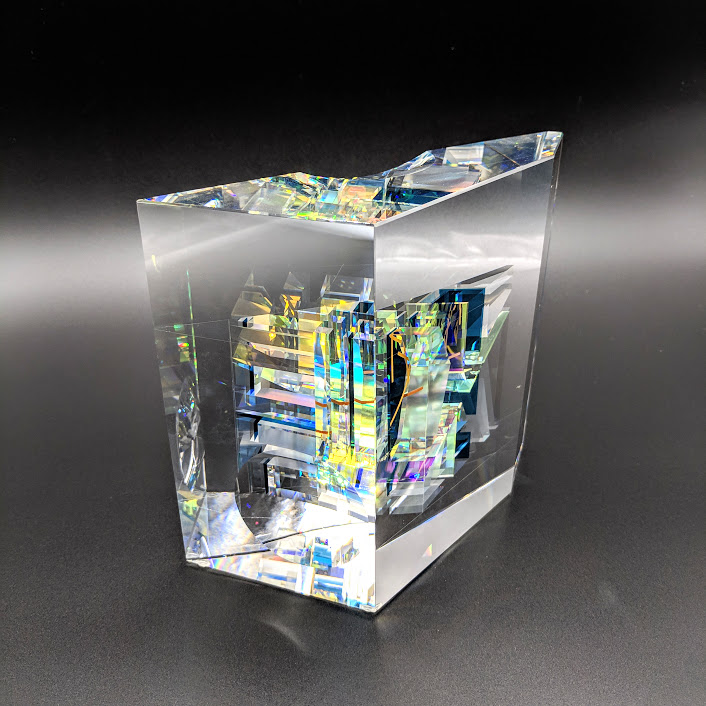 Toland Sand glass sculpture available at Habatat Galleries Florida