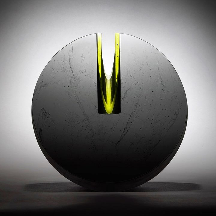 Bruno Romanelli glass sculpture