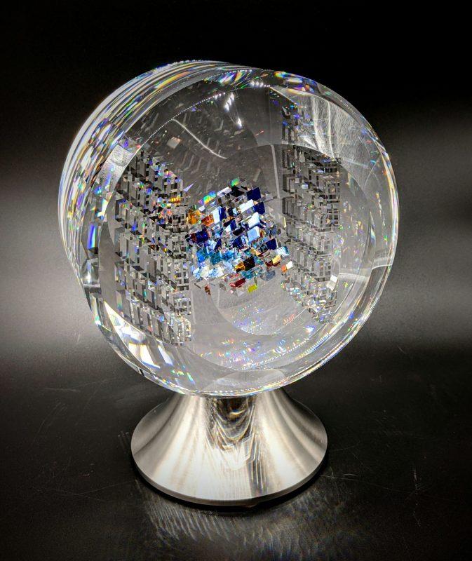 Glass art by Jon Kuhn