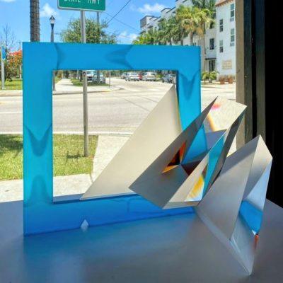 Michael Pavlik glass sculpture