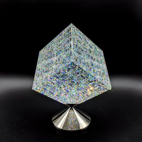 Jon Kuhn glass art at Habatat Galleries