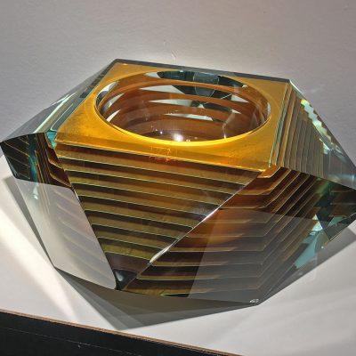 Tomas Hlavicka glass sculpture