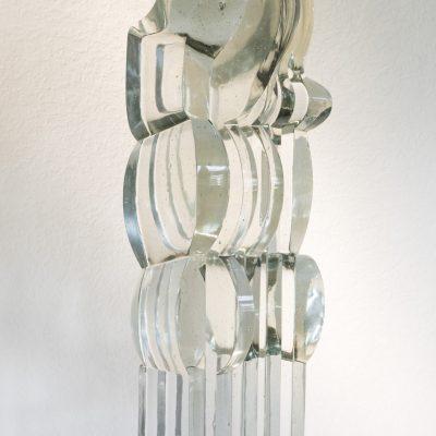 Stanislav/Jaroslava Libensky/Brychtova glass sculpture