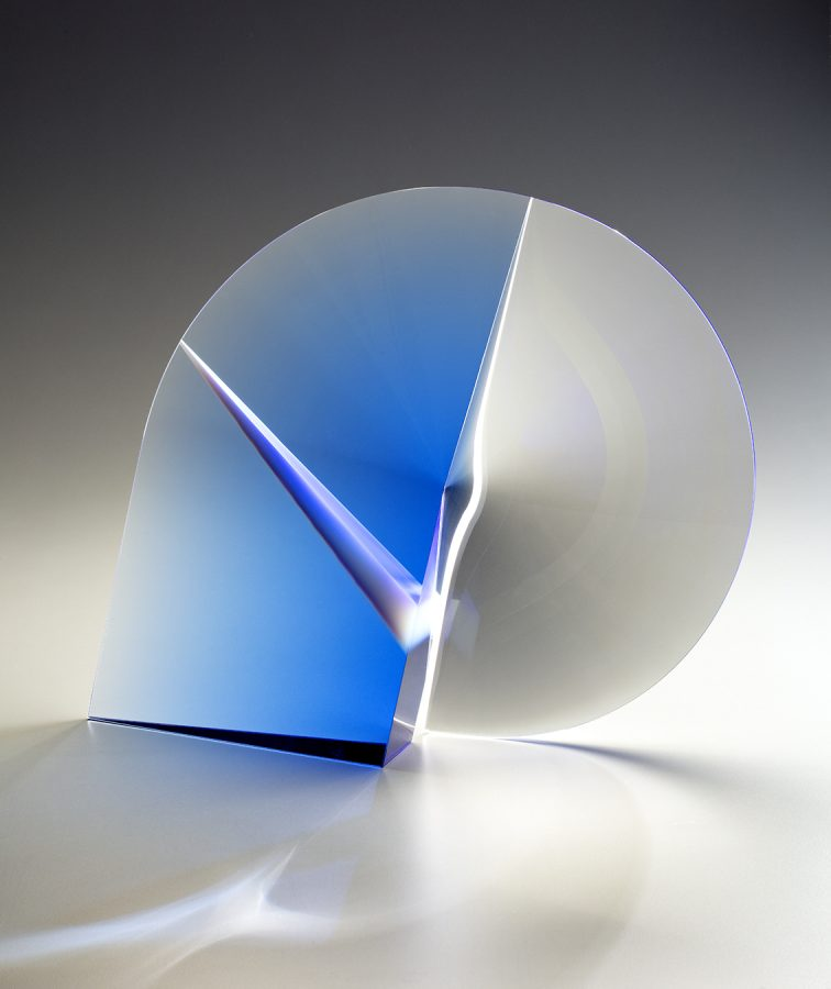 Martin Rosol glass sculpture