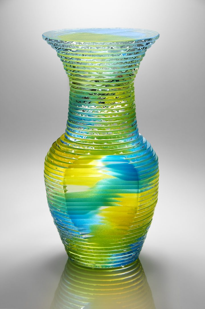 Sidney Hutter glass art available at Habatat Galleries