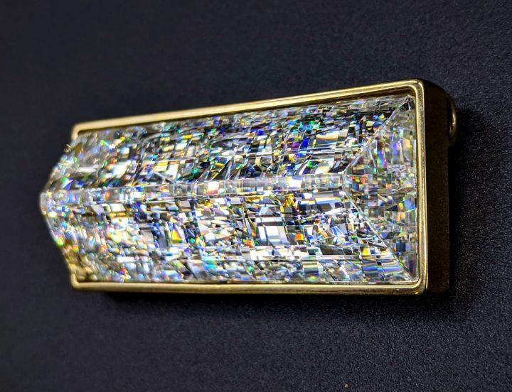 John Kuhn glass pendant