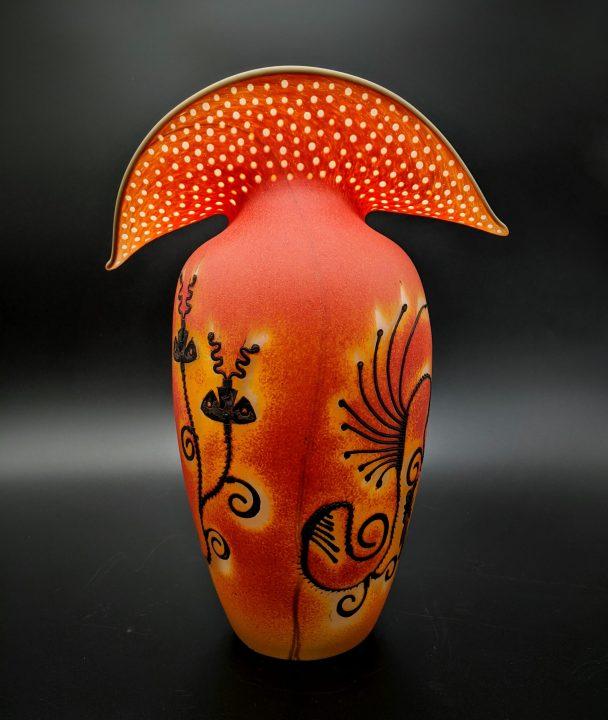 Jose Chardiet glass art
