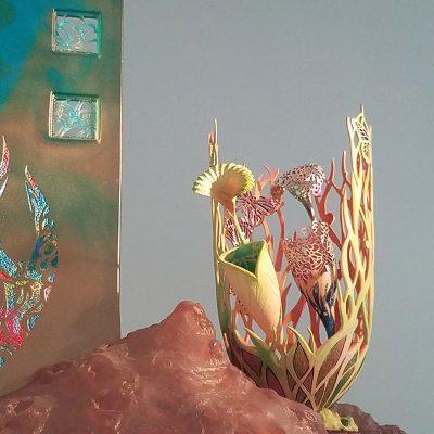 Sculpture detail by Binh Pho
