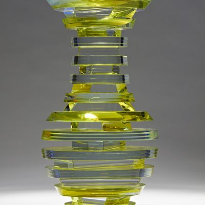 Sidney Hutter glass sculpture