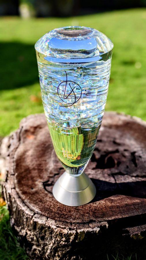 Toland Sand glass sculpture