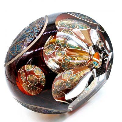 David Schwarz glass sculpture