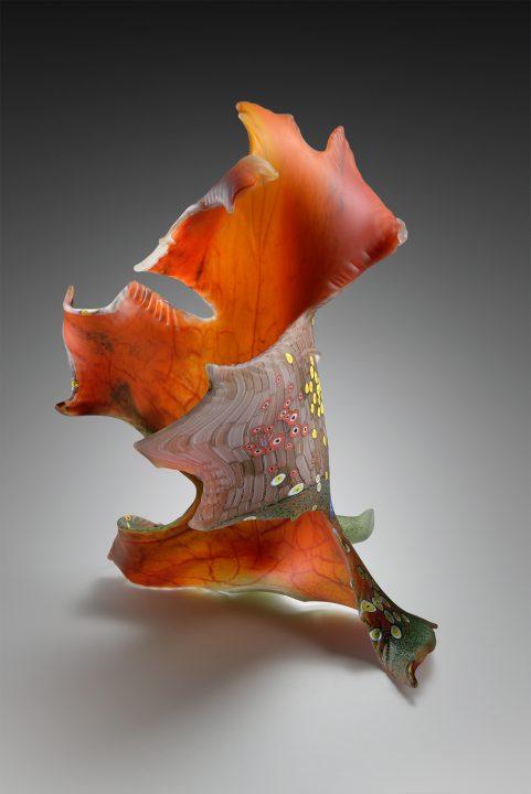Ross Richmond glass sculpture at Habatat Galleries