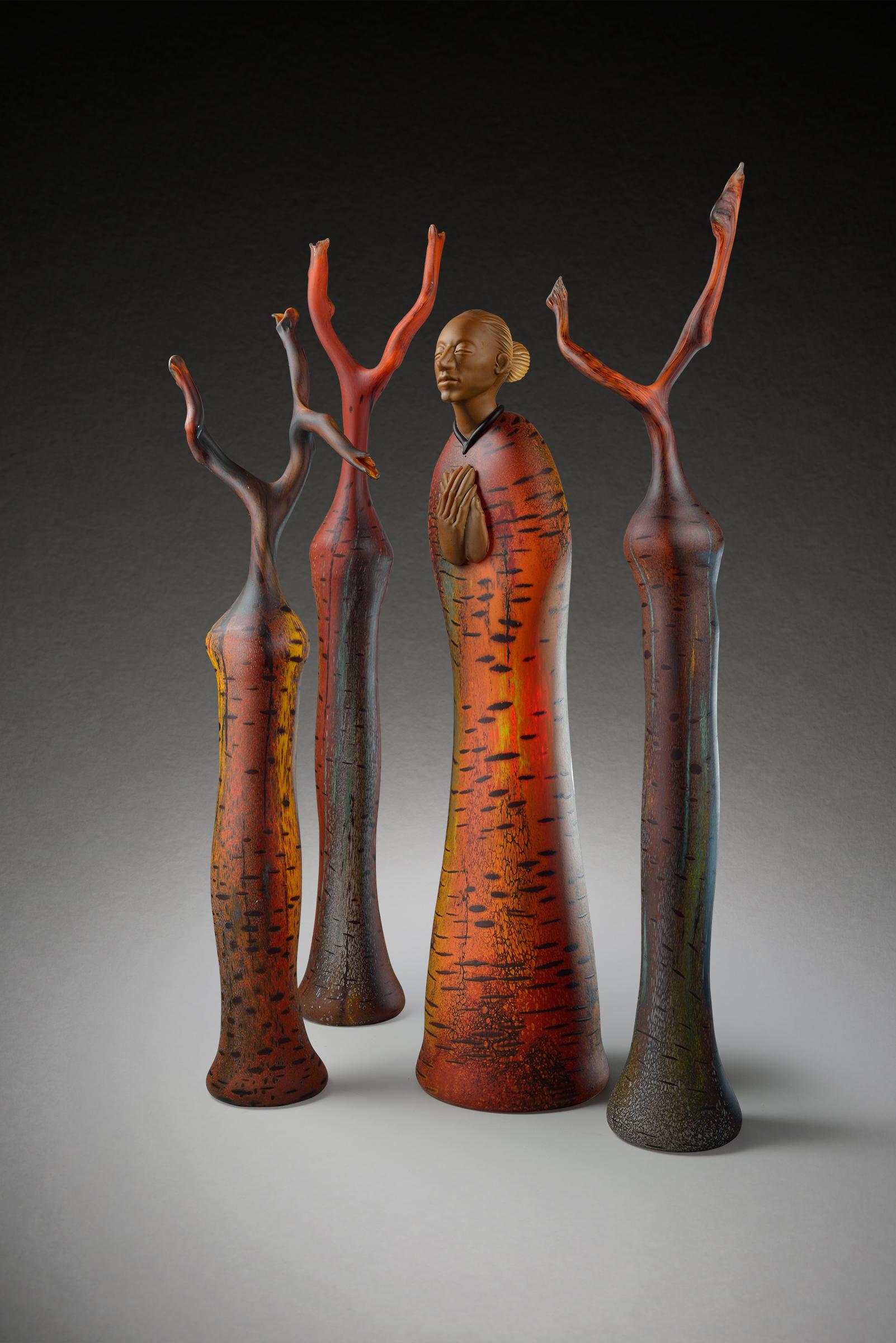Glass sculpture by Ross Richmond and Randy Walker