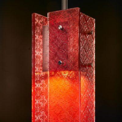 Sidney Hutter glass art
