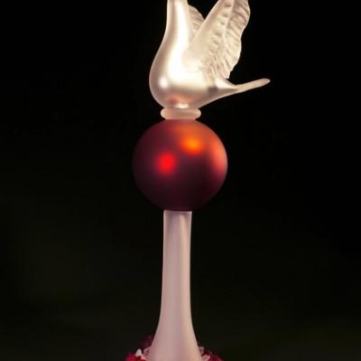 Richard Jolley Glass sculpture