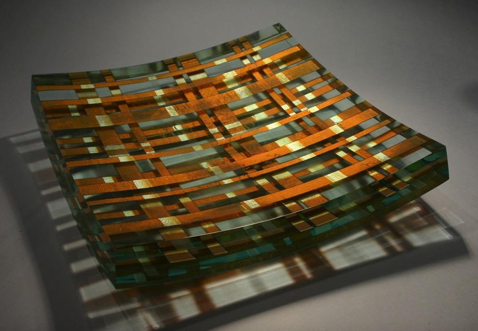 Glass sculpture by Tomas Hlavicka