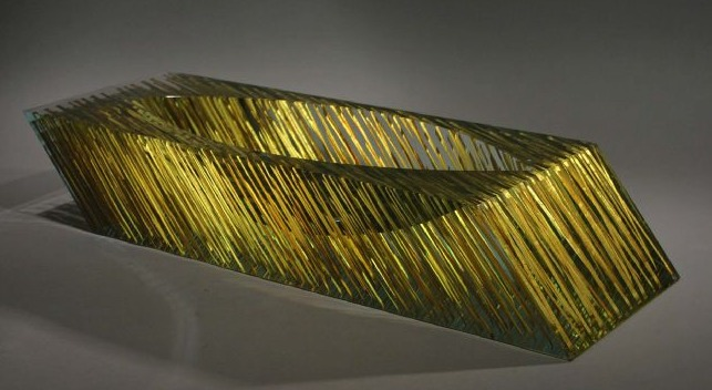 Glass Sculpture by Czech artist Tomas Hlavicka