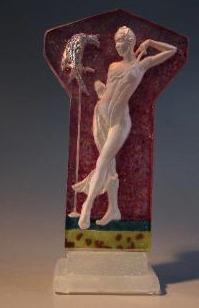 Glass sculpture by Wendy Saxon Brown